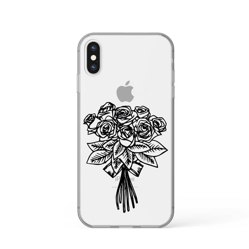 Kryt na iPhone Kytica ruží