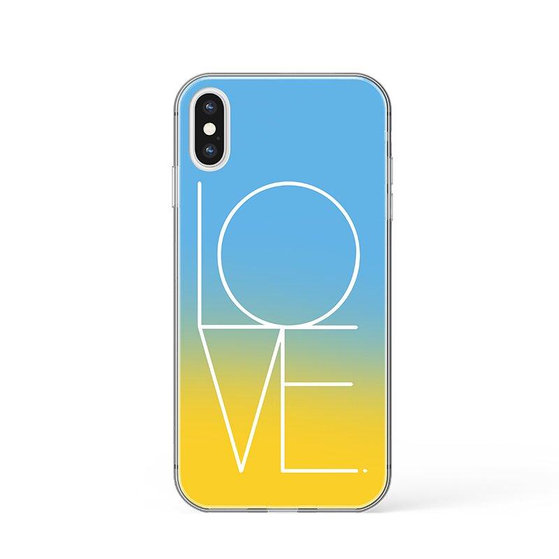 Kryt na iPhone Love
