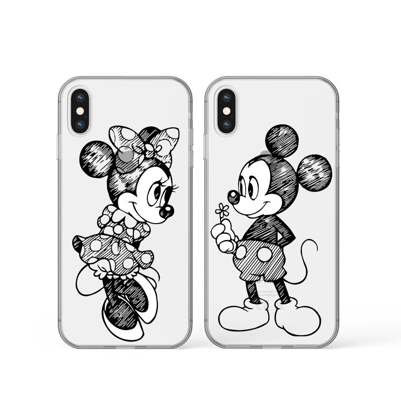 Kryt na iPhone Mickey and Minnie