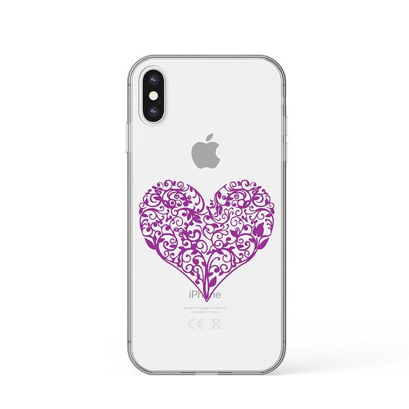 Kryt na iPhone Ornament Heart