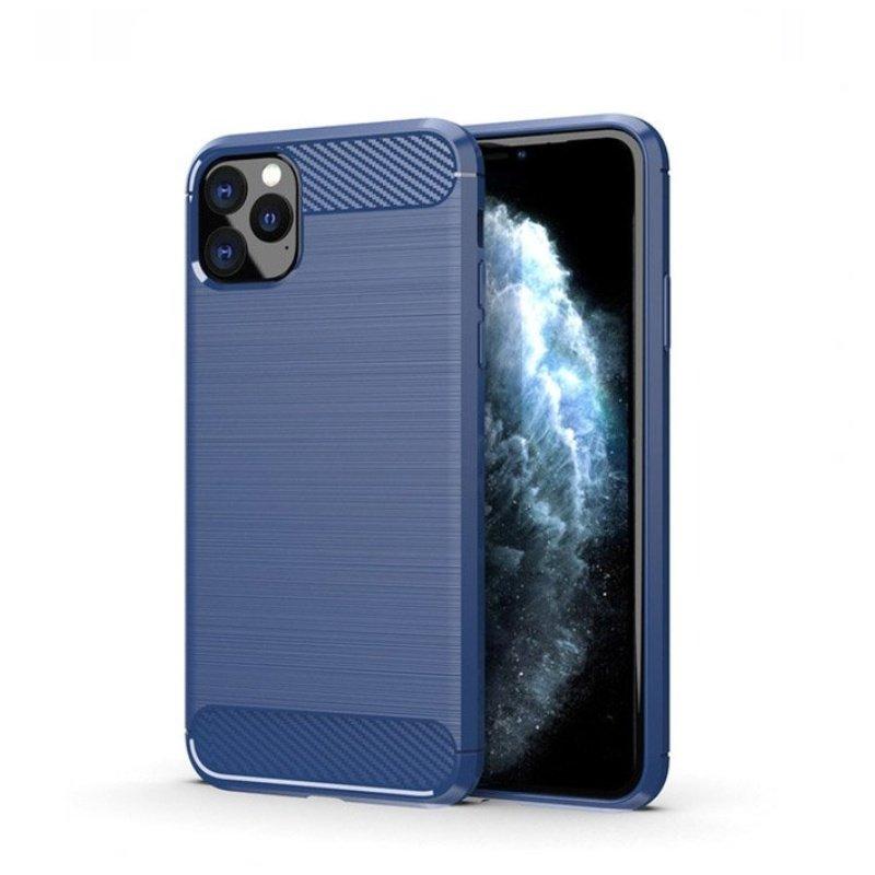 Silikónový kryt na iPhone 11 Pro Carbon Blue