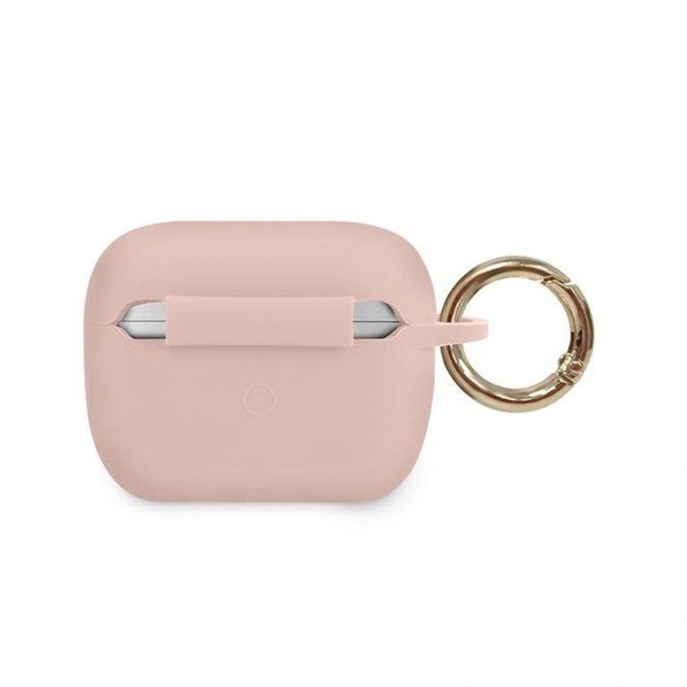 Guess obal na AirPods Pro silikónový ružový
