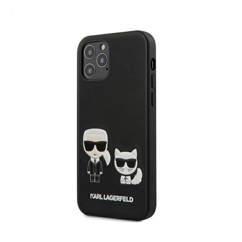 Karl Legerfeld kryt na iPhone 12 Pro Max čierny