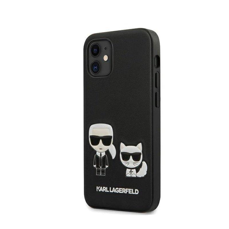 Karl Legerfeld kryt na iPhone 12 Mini čierny