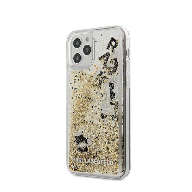 Karl Legerfeld kryt na iPhone 12/12 Pro zlatý