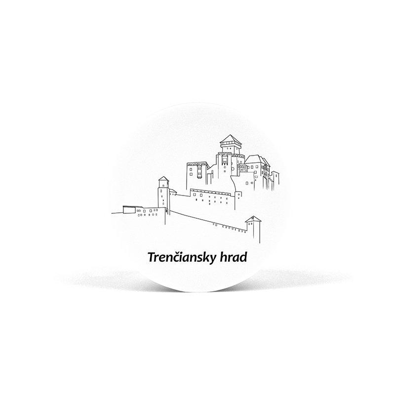 PopSocket Trenčiansky hrad