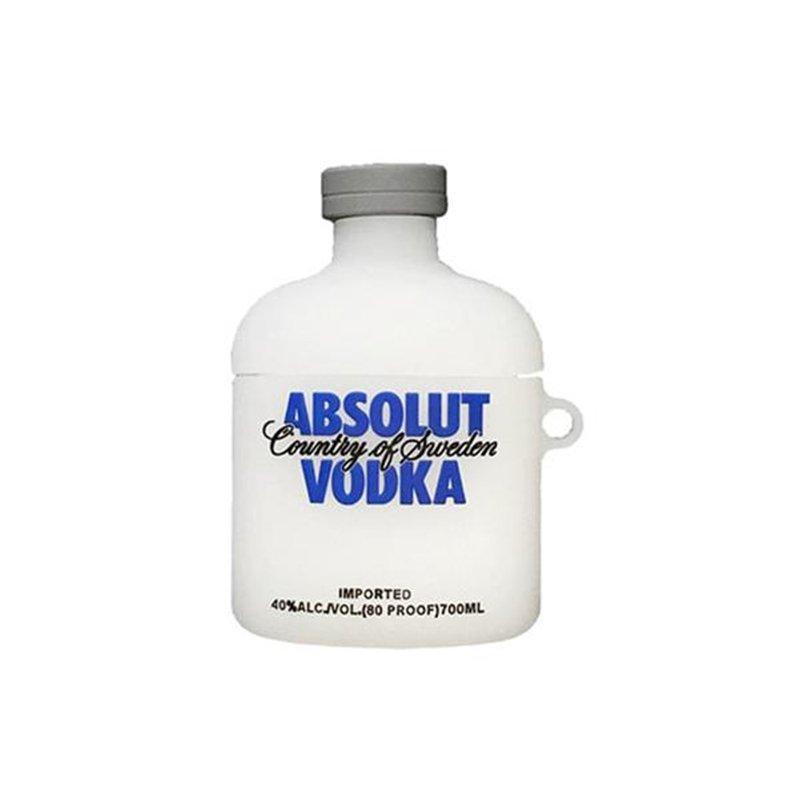 Obal na AirPods silikónový Absolut vodka