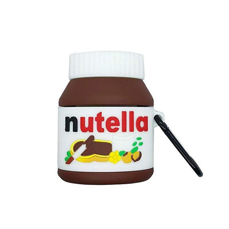Obal na AirPods silikónový Nutella