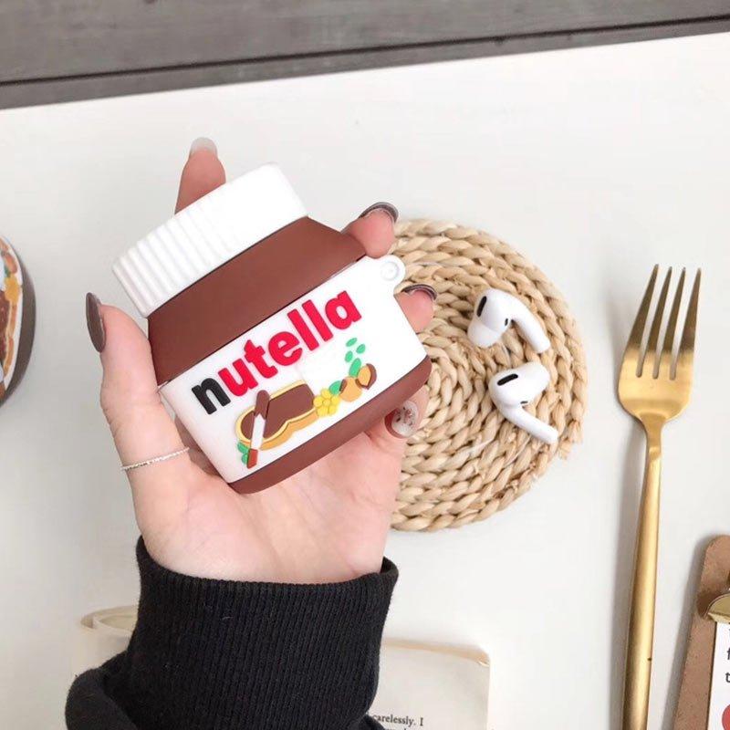 Obal na AirPods Pro silikónový Nutella