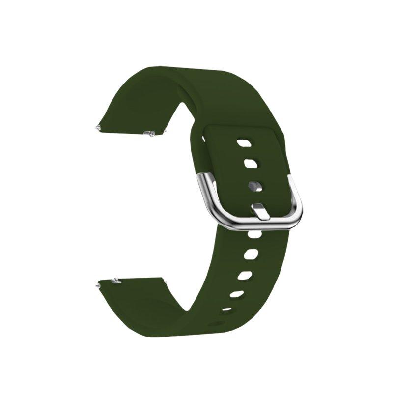 Remienok silikónový 22mm Zelený