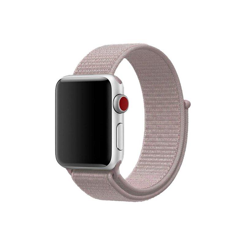 Remienok na Apple Watch 38mm/40mm látkový Rose Pink