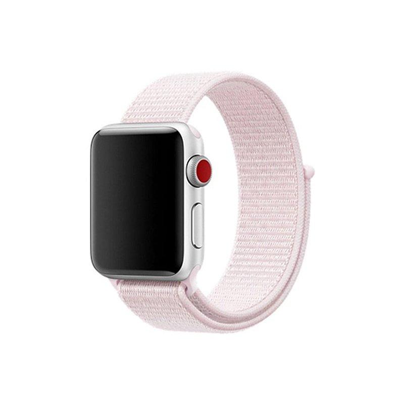 Remienok na Apple Watch 38mm/40mm látkový Pearl Pink