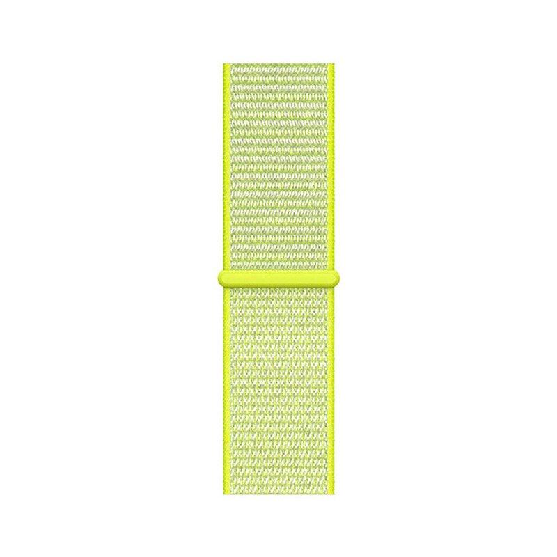 Remienok na Apple Watch 42mm/44mm látkový Light Green