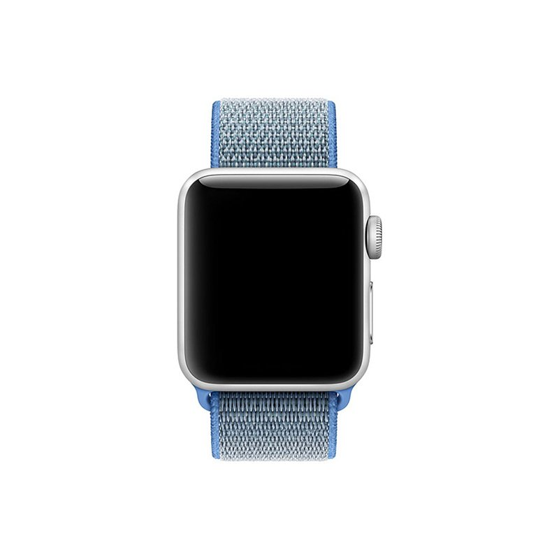 Remienok na Apple Watch 42mm/44mm látkový Tahoe Blue