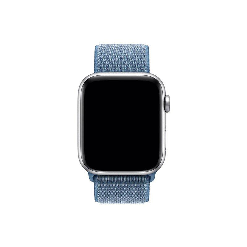 Remienok na Apple Watch 42mm/44mm látkový Dark Blue