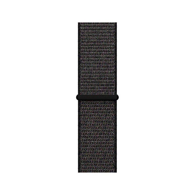 Remienok na Apple Watch 42mm/44mm látkový Black Mix