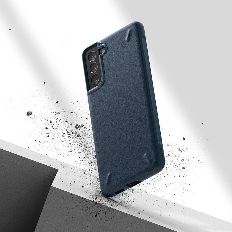 Onyx Durable kryt na Samsung Galaxy S21 Plus Navy Blue