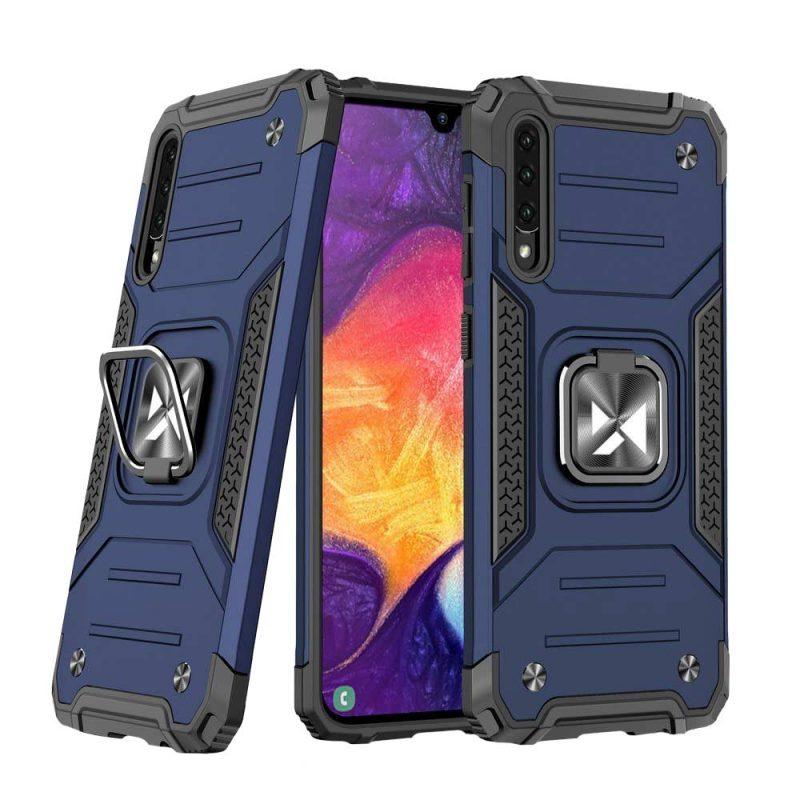 Ring Armor kryt na Samsung Galaxy A50 Blue