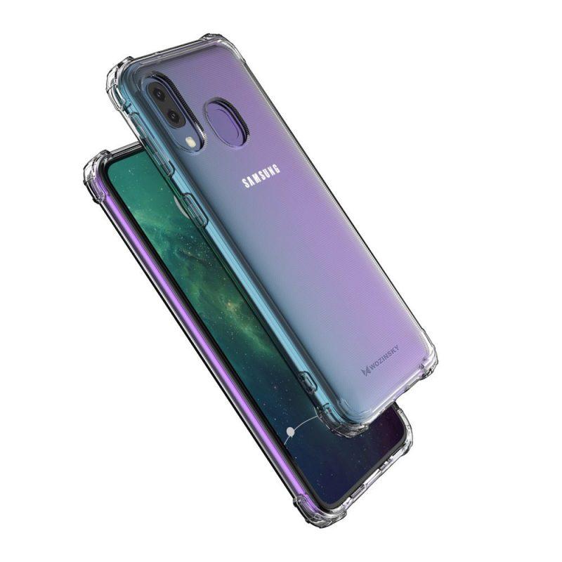 Anti Shock kryt na Samsung Galaxy A20e Priehľadný