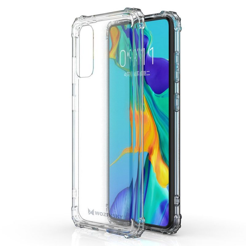 Anti Shock kryt na Samsung Galaxy A41 Priehľadný