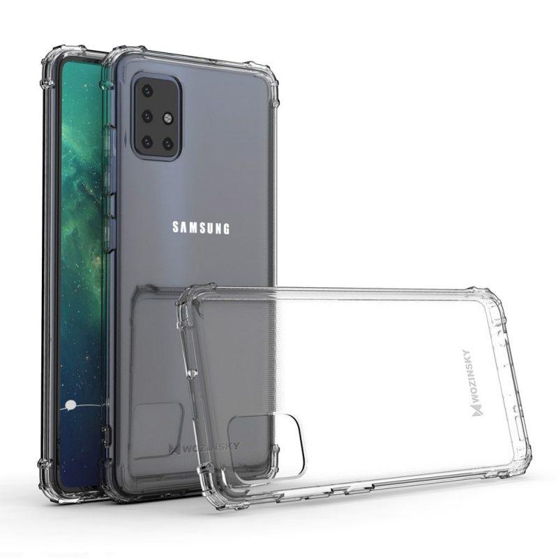 Anti Shock kryt na Samsung Galaxy A51 Priehľadný