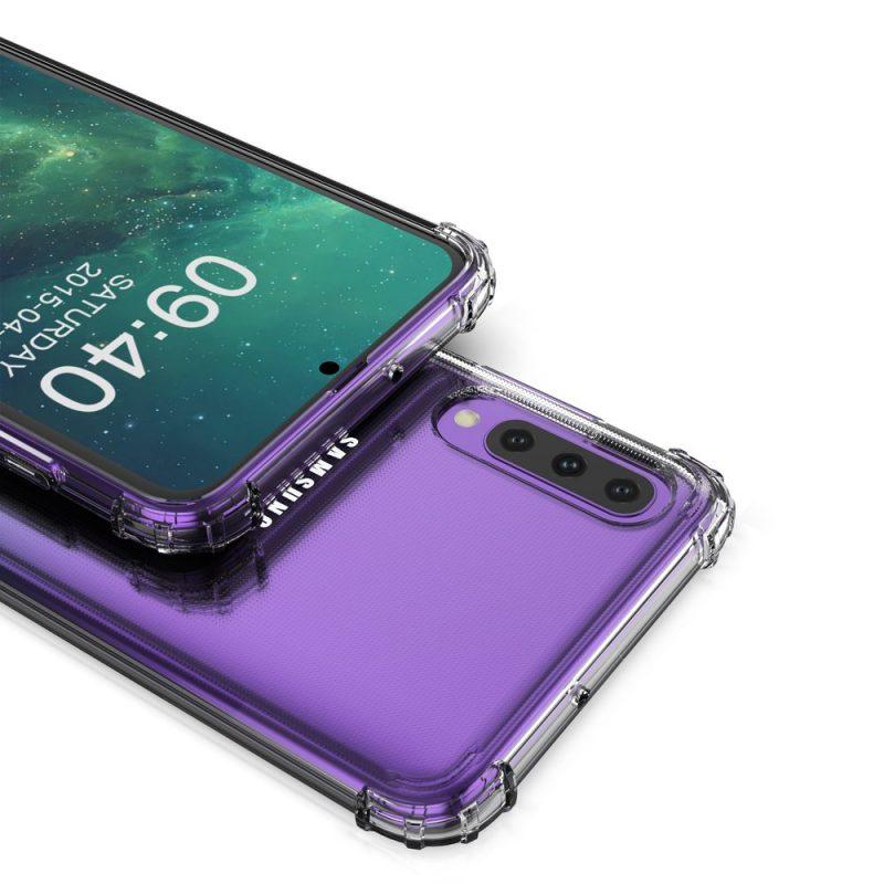 Anti Shock kryt na Samsung Galaxy A70 Priehľadný