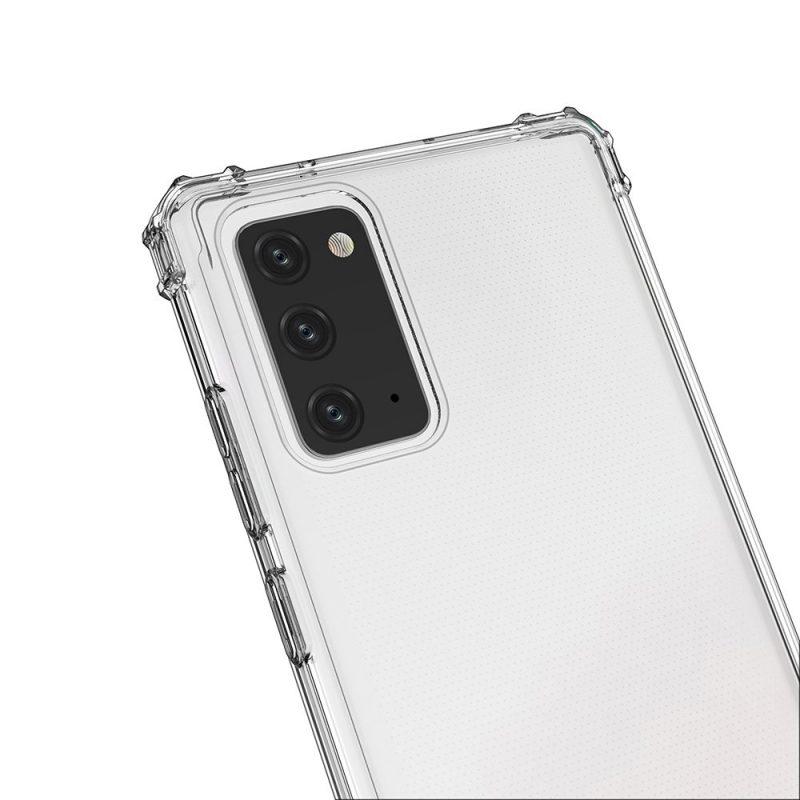 Anti Shock kryt na Samsung Galaxy Note 20 Priehľadný