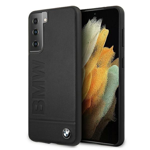 BMW kryt na Samsung Galaxy S21 Plus Black Hard Case