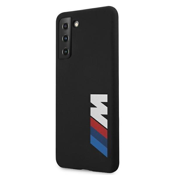 BMW silikónový kryt na Samsung Galaxy S21 Plus Black