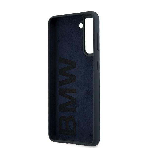 BMW silikónový kryt na Samsung Galaxy S21 Plus Navy Blue