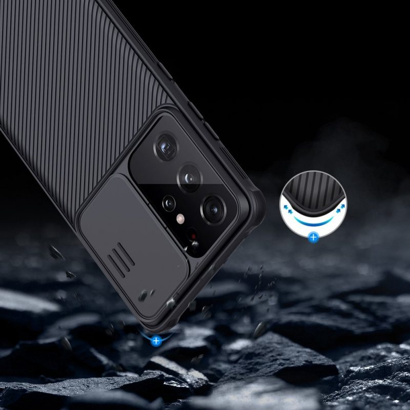 CamShield kryt na Samsung Galaxy S21 Ultra Durable Cover Black