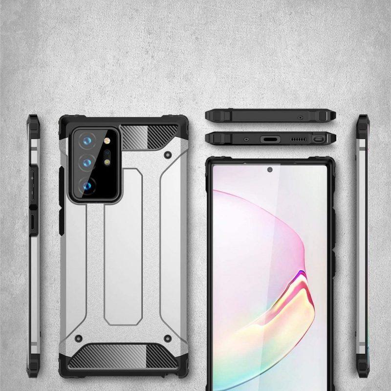 Hybrid Armor kryt na Samsung Galaxy Note 20 Ultra Blue
