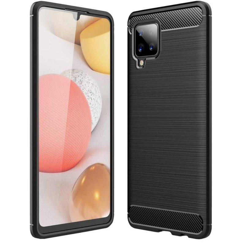 Carbon kryt na Samsung Galaxy A42 Čierny