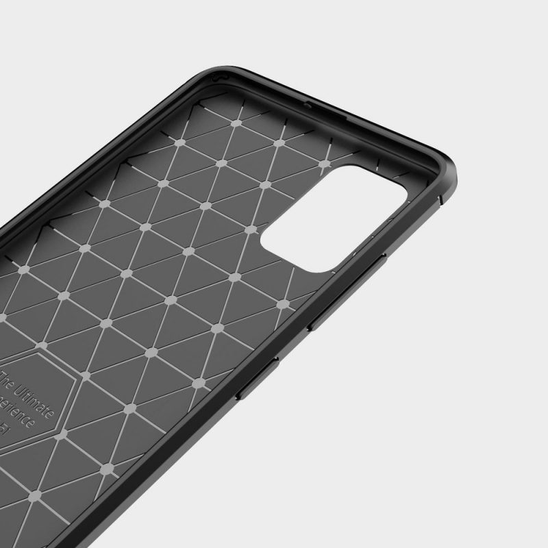 Carbon kryt na Samsung Galaxy A71 Čierny