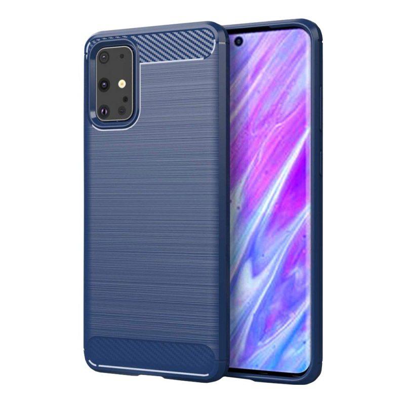 Carbon kryt na Samsung Galaxy S20 Modrý