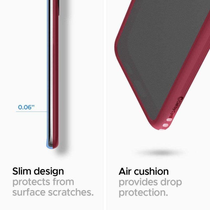 Ciel Color kryt na Samsung Galaxy S20 Burgundy