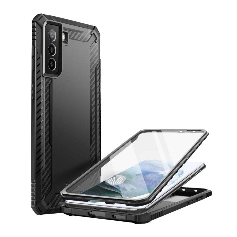 Clayco Xenon kryt na Samsung Galaxy S21 Black