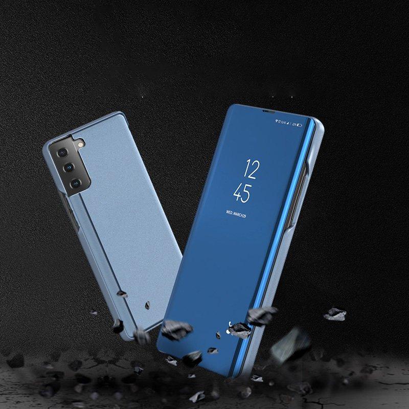 Diárové puzdro na Samsung Galaxy S21 Ultra Modré