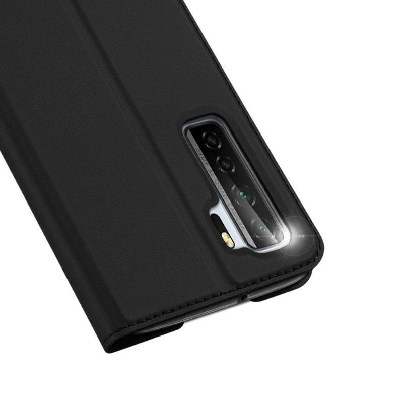 Diárové puzdro na Huawei P40 Lite Čierne
