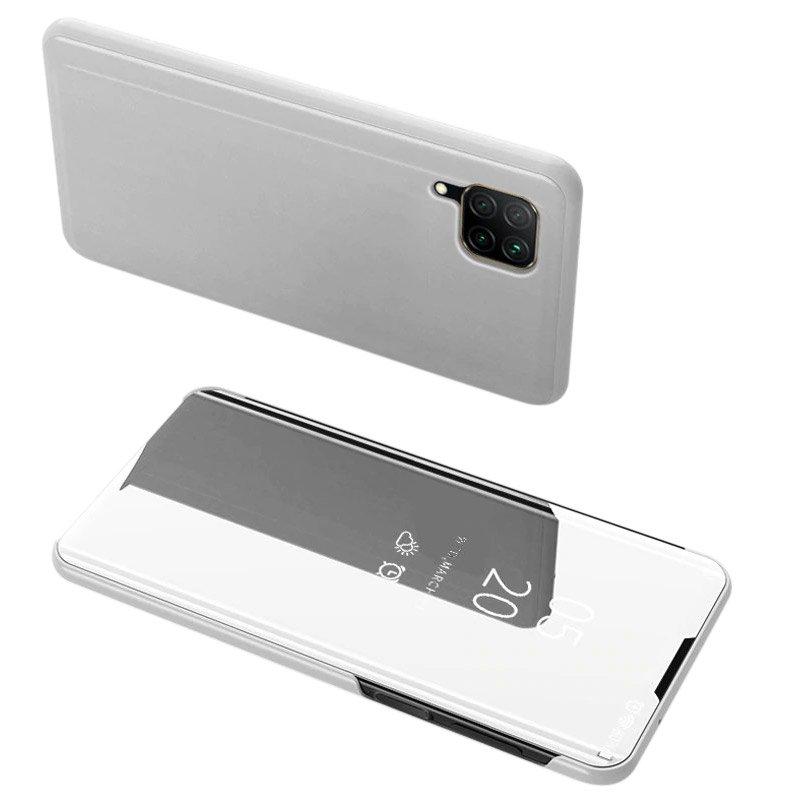 Diárové puzdro na Huawei P40 Lite Silver