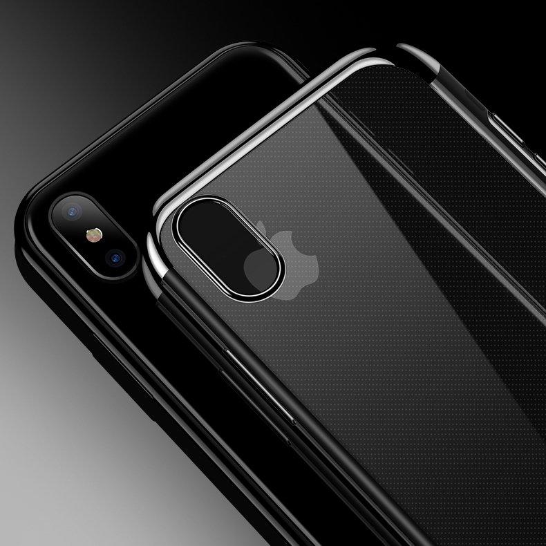 Electroplating kryt na Samsung Galaxy A50 Black