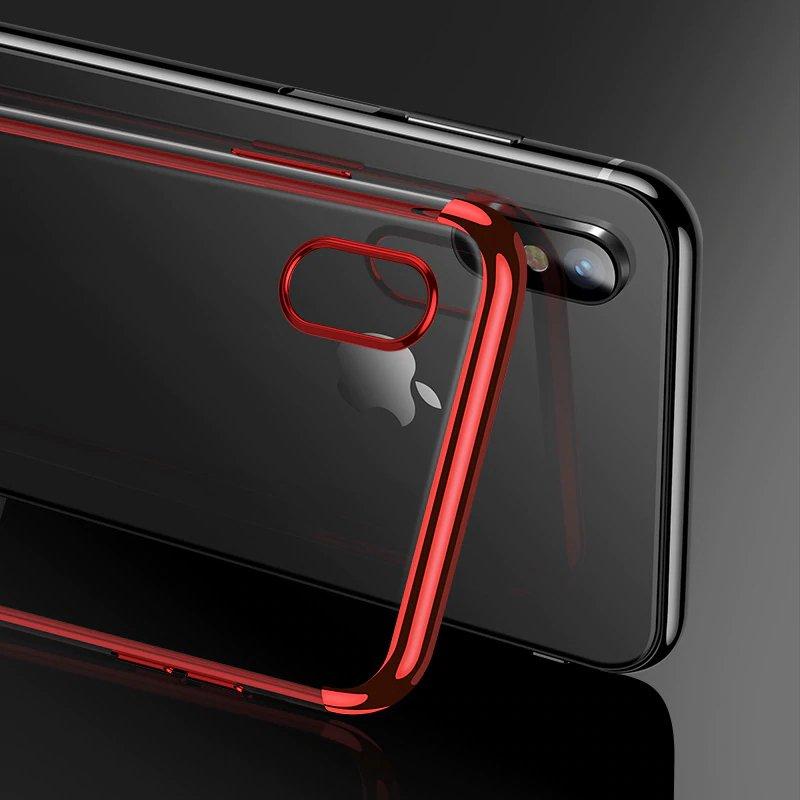 Electroplating kryt na Samsung Galaxy A50 Red