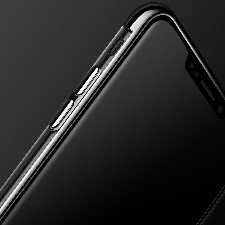 Electroplating kryt na Samsung Galaxy A70 Čierny