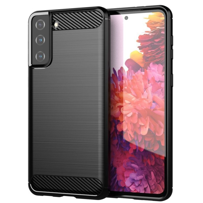 Flexible Carbon kryt na Samsung Galaxy S21 Plus Čierny