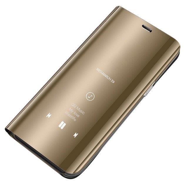 Ochranné Flip puzdro na Samsung Galaxy A20e Zlaté