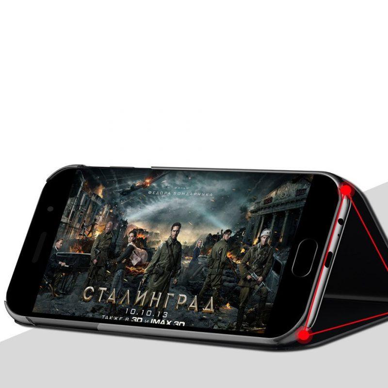 Ochranné Flip puzdro na Samsung Galaxy M51 Čierne