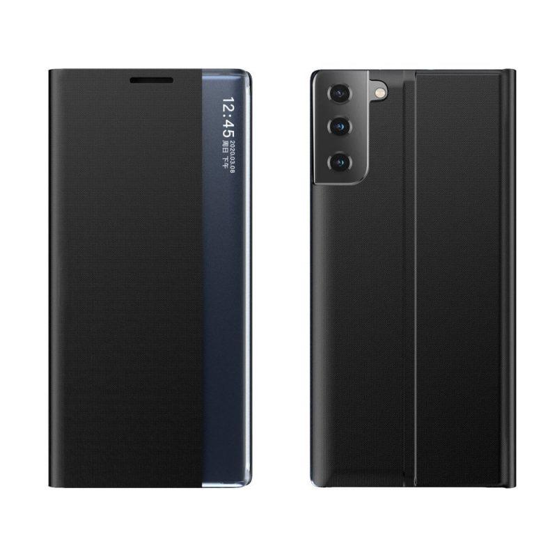 Ochranné Flip puzdro na Samsung Galaxy S21 Plus Čierne