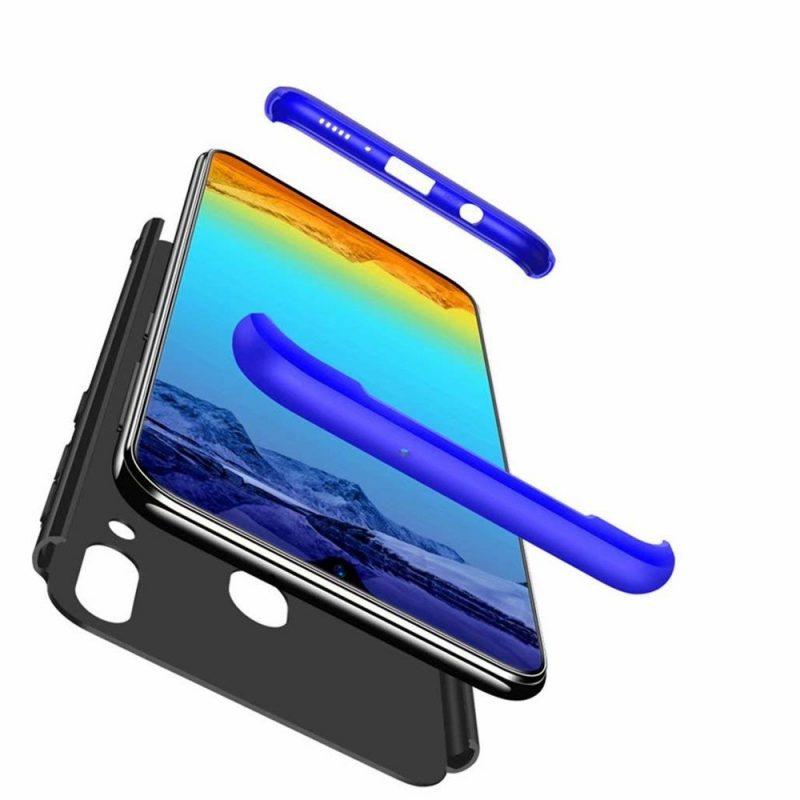 Odolný Full Body kryt na Samsung Galaxy A40 Black-Blue