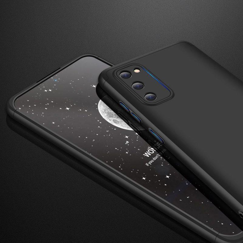 Odolný Full Body kryt na Samsung Galaxy A41 Black