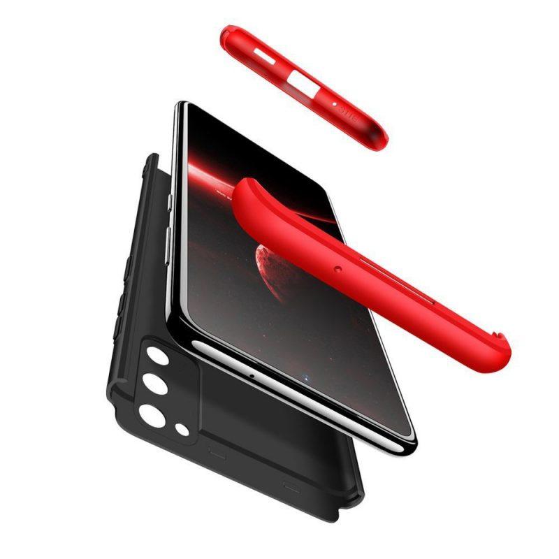 Odolný Full Body kryt na Samsung Galaxy A41 Black-Red